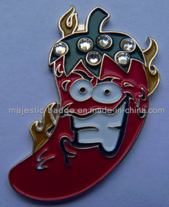 Customized Chili Lapel Pin (MJ-PIN-076) pictures & photos