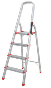 Aluminium En131 Stool Tool Step Steel Extension Multipurpose Multifunction Household Ladder 87cm