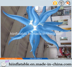 2015 Hot Selling Lighting Inflatable Star 006 for Party, Event, Stage, Christmas Ceiling Decoration with LED Light