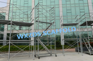 Zds Door Frame /Stair Frame/Walking Frame Scaffold/Frame Scaffolding System pictures & photos