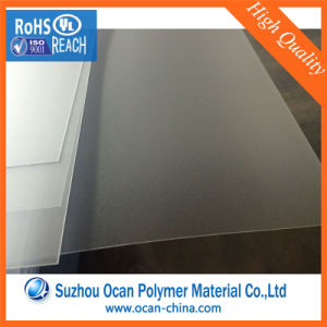 Clear Matt PVC Sheet, Transparent Embossed PVC Rigid Sheet for Silk-Screen Printing pictures & photos