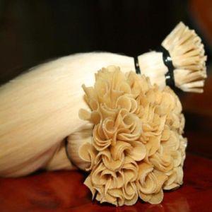European Virgin Remy Pre-Bonded Nail U Tip Human Hair Extension pictures & photos