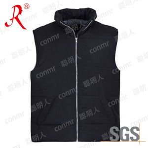 Winter Warmer Polyester Vest for Outdoor (QF-807) pictures & photos