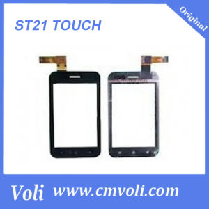 Cell Phone Touch Screen for Sony Ericsson St21 Black pictures & photos