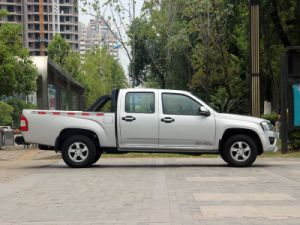 4X4 Petrol /Gasoline Double Cabin Pick up (Extended Cargo Box, Luxury) pictures & photos