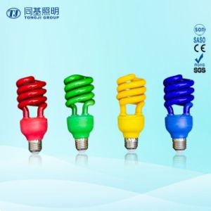 Manufacturer Colorful Half Spiral Incandescent Bulb pictures & photos