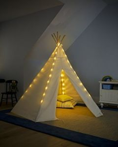 Indian Children Teepee Wooden Tent with 100% Cotton pictures & photos