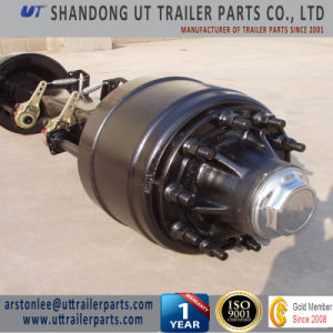 Trailer Axle Both BPW and Fuwa Design 12 Tons 13 Tons pictures & photos