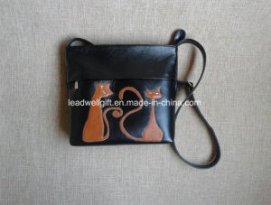 Shoulder Small Black Women Application Cats Women Gift Stylish Bag pictures & photos