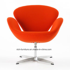 Modern Classic Home Hotel Lobby Furniture Swan Swivel Leisure Chair pictures & photos
