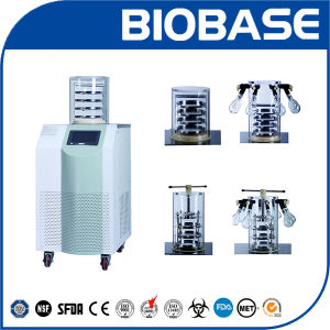 Biobase Vertical Freeze Dryer Lyophilizer Machine with Drying Bottles pictures & photos