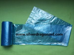 Customized Color HDPE Plastic Trash Bag on Roll pictures & photos