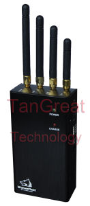 Portable Cell Phone WiFi Jammer Handheld Signal Jamming (TG-120A-PRO) pictures & photos