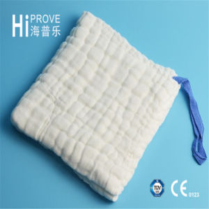 High Quality Gauze Lap Sponge with X-ray Blue Loop pictures & photos
