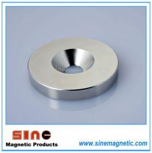 Counter Bore Permanent NdFeB Magnet (Neodymium Magnet) pictures & photos