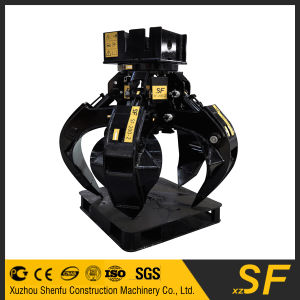 Excavator Parts Hydraulic Grab, Stone Grab, Rotating Grab pictures & photos