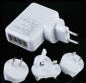 4 USB Wall Charger for Travel (SH8040) pictures & photos