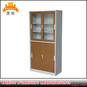High Quality Two Sliding Door Steel Cupboard pictures & photos