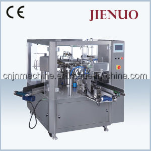 Jienuo High Speed Rotary Sugar Bag Packing Machine (GD8-200) pictures & photos