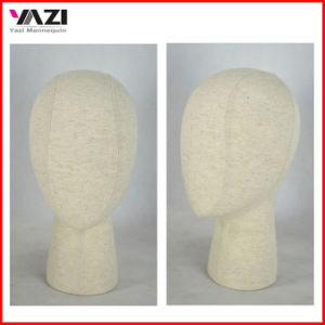 Fabric Wrapped Female Head Mannequin for Head Display in Hot Sale pictures & photos