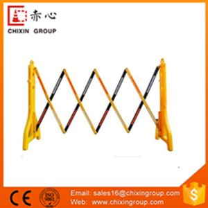 Crowd Control Barrier, Avalon Model, Orange Color, Anti-Trip Feet, Can Accept Sheeting pictures & photos