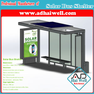 Solar Panel Bus Shelter Advertising Display pictures & photos