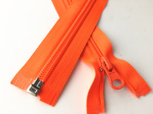 Heavy Duty Zipper Open End No. 7 Size with Auto Lock Slider pictures & photos