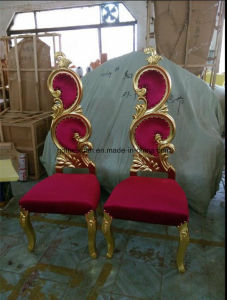 European-Style Solid Wood Chair Image New Classical Recreational Chair Hotel Chair Recreational Chair The Clubhouse Image (M-X3364) pictures & photos