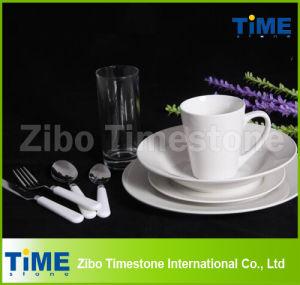72PCS Fine Royal White Ceramics Porcelain Dinner Set pictures & photos