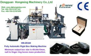 Automatic Paperboard Ring Box Maker (HM-ZD240)