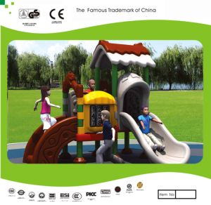 Kaiqi Cute and Colourful Children′s Playground Slide Set (KQ20144A) pictures & photos