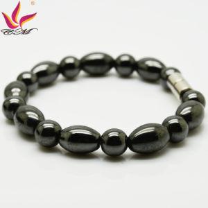 Classic Design Magnetic Hematite Beads Bracelet Healing Men′s Bracelet Wholesale pictures & photos