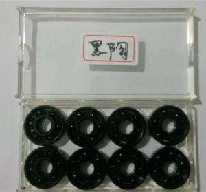 China Black Ceramic Bearing 606 Small Miniature Bearing Ball Bearing pictures & photos
