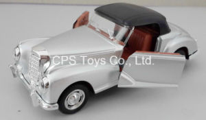 1: 32 Die Cast Classic Car, Metal Car, Toy Car, Pull Back, Door Open, with Light and Sound (987-9)