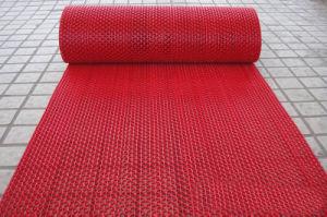 Indoor Outdoor Anti Slip Non Skid Slippery Resistant Waterproof Water Proof Vinyl PVC Plastic Roll Rolling Floor Flooring Carpets pictures & photos