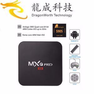 Mxq PRO S905 1g8g Android TV Box Support OEM pictures & photos