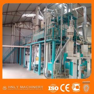 High Efficiency Complete Set Maize Flour Mill pictures & photos