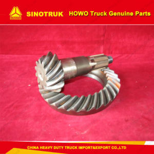 Sinotruk HOWO Spare Parts Pinion and Crown Wheel, Gear Crown Wheel Pinion Gear Set, (199012320177) pictures & photos