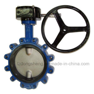 Cast Iron Lug Style Butterfly Valves with Lever Operated pictures & photos