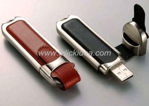 Leather USB Flash Disk 1GB-16GB