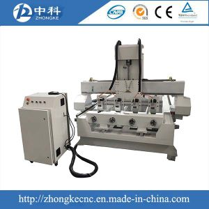High Quality 4 Spindles and Rotaries Wood CNC Router Machine/Engraving Machine pictures & photos