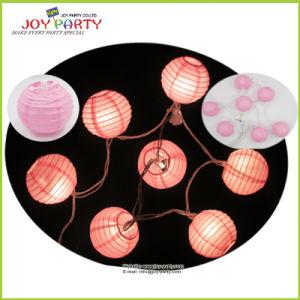 "Christmas Tree Ornament 3"" Paper Lantern String Light Fairy Light"