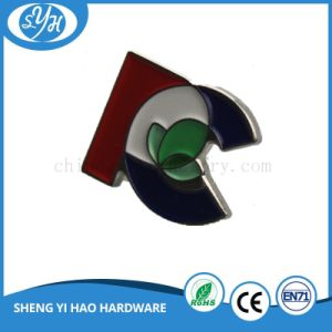 Custom Zinc Alloy Gold Plating Metal Lapel Pin Badge pictures & photos