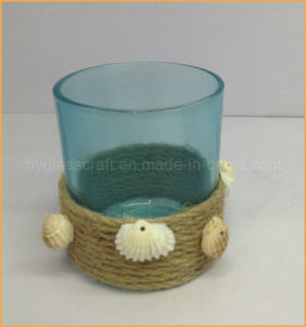 Ocean Series Blue Glass Candle Holder pictures & photos