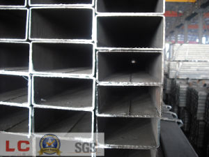 ERW Black Rectangular Pipe (Spec: GB/T Q215-235) pictures & photos