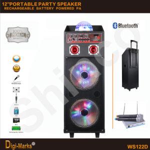 Hot Sale Stereo Bluetooth Speaker Karaoke TV KTV Disco Loudspeaker pictures & photos
