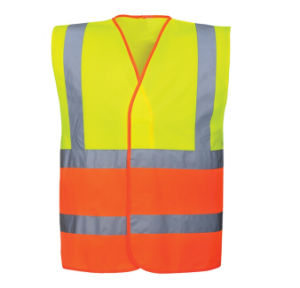 Combat Color High Light Hi-Vis Road Night Cheap Vest pictures & photos