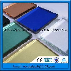 Hot Using Colors Reflective Coating Glass pictures & photos