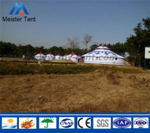 Cheap Strong Waterproof Mongolian Yurt Tent pictures & photos