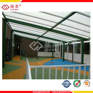 Polycarbonate Solid Sheet House Roof Coverings Polycarbonate Sheet Bayer (YM-PC-035) pictures & photos